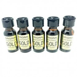 25ml Amsterdam Gold Poppers x 5