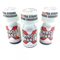 10ml Throb Hard Poppers x 3