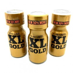 15ml XL Gold Poppers x 3