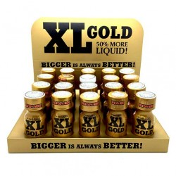 XL Gold Poppers x 20 - uk poppers trays